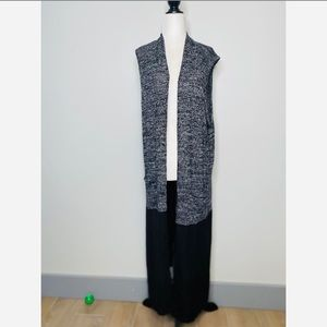 Pebble and Stone Anthropologie long Open Cardigan